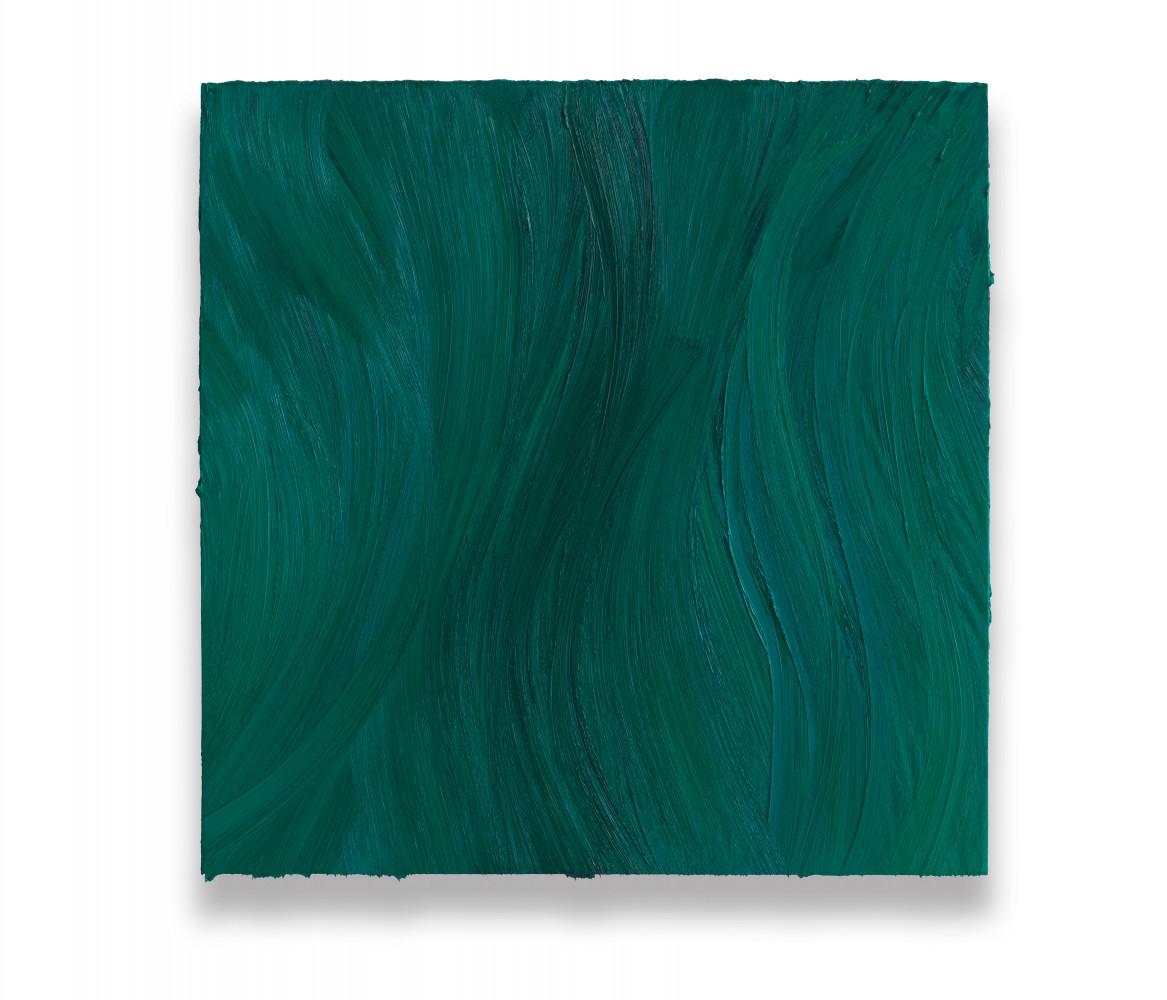 Jason Martin, 'Untitled (Turquoise blue deep / Caribbean blue)', 2020