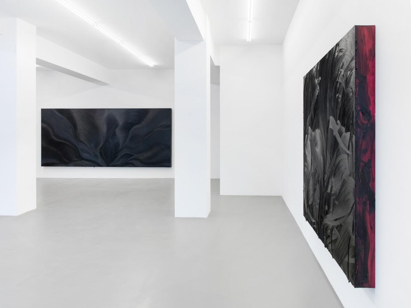 Jason Martin, 'Vertigo', Installation view, Buchmann Galerie, 2018