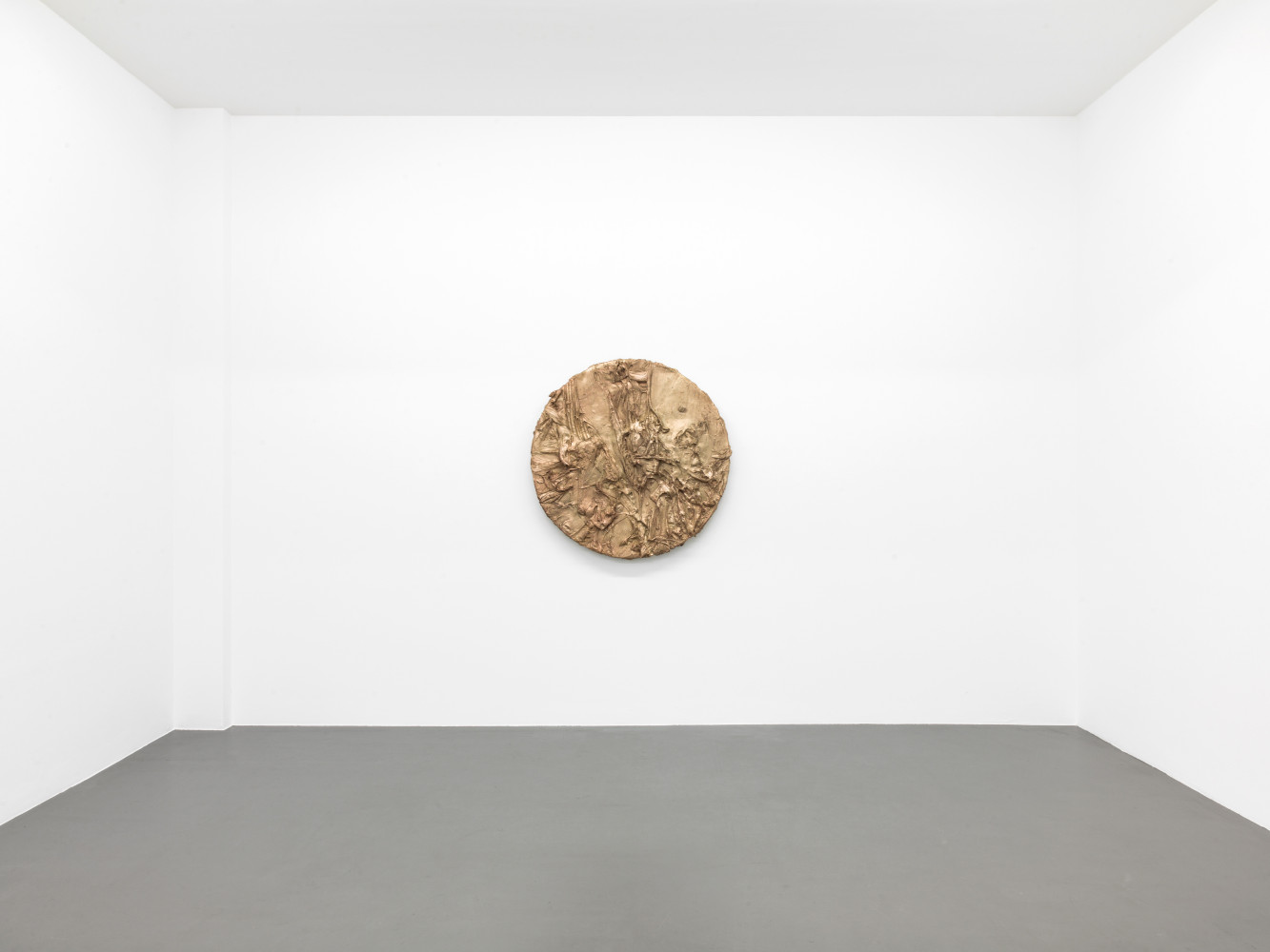 Jason Martin, 'Tondo', Installation view, Buchmann Galerie, 2018