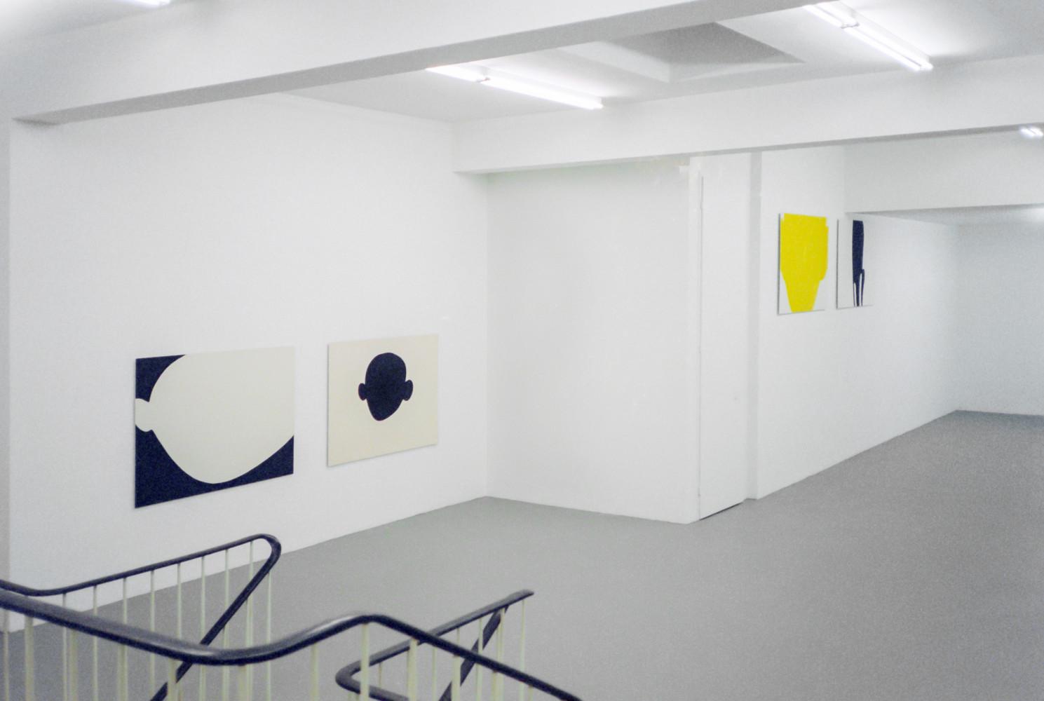 Jean Charles Blais, Installation view, 2001