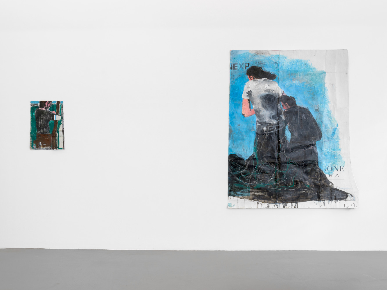Jean Charles Blais, Installation view, Buchmann Galerie, 2019