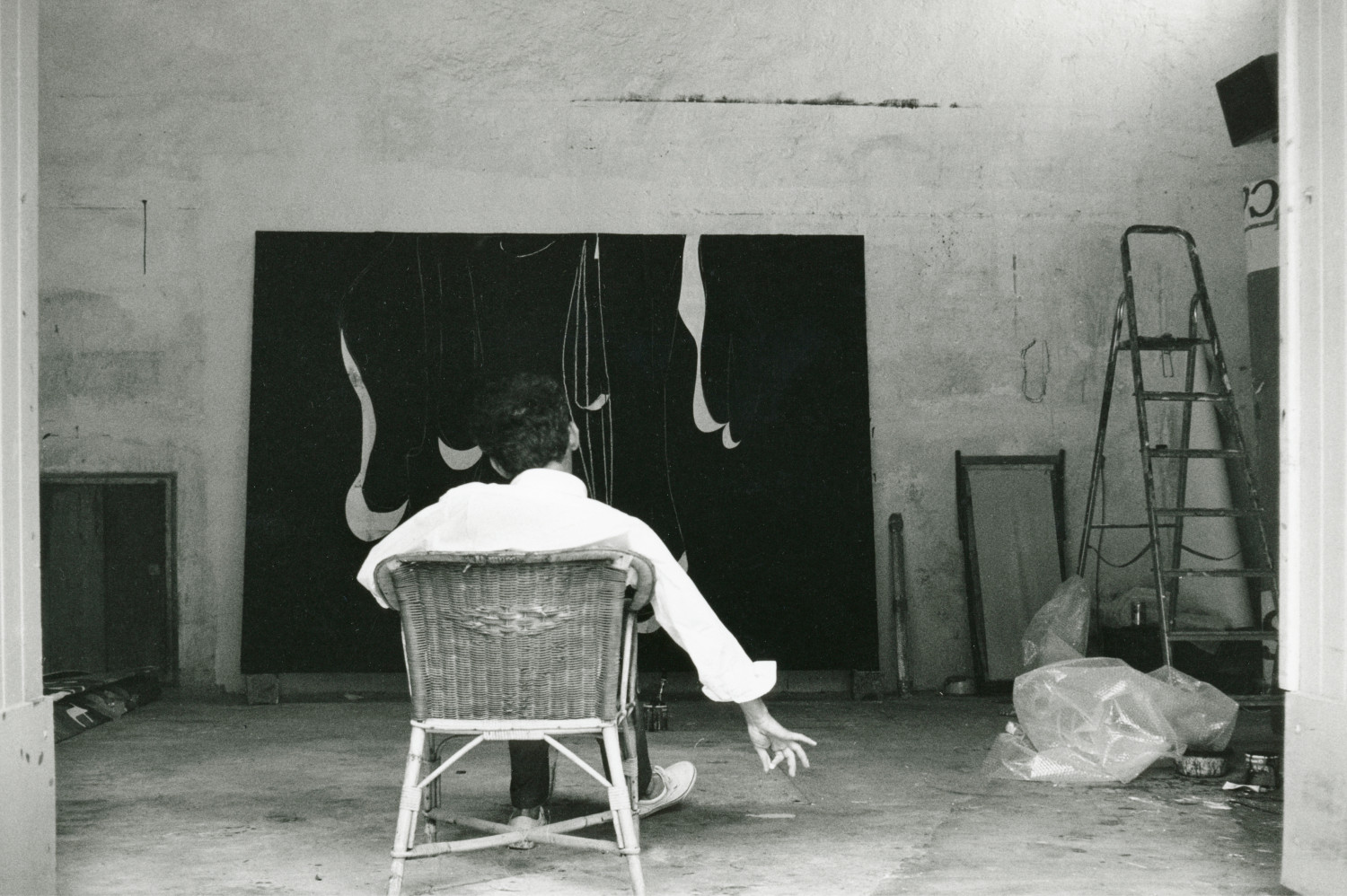 Jean Charles Blais, 'Jean-Charles Blais in his studio, Vence, France'
