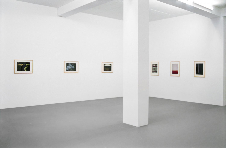 John Chamberlain, 'Juan Uslé / John Chamberlain – Photographien', Installation view, 1996