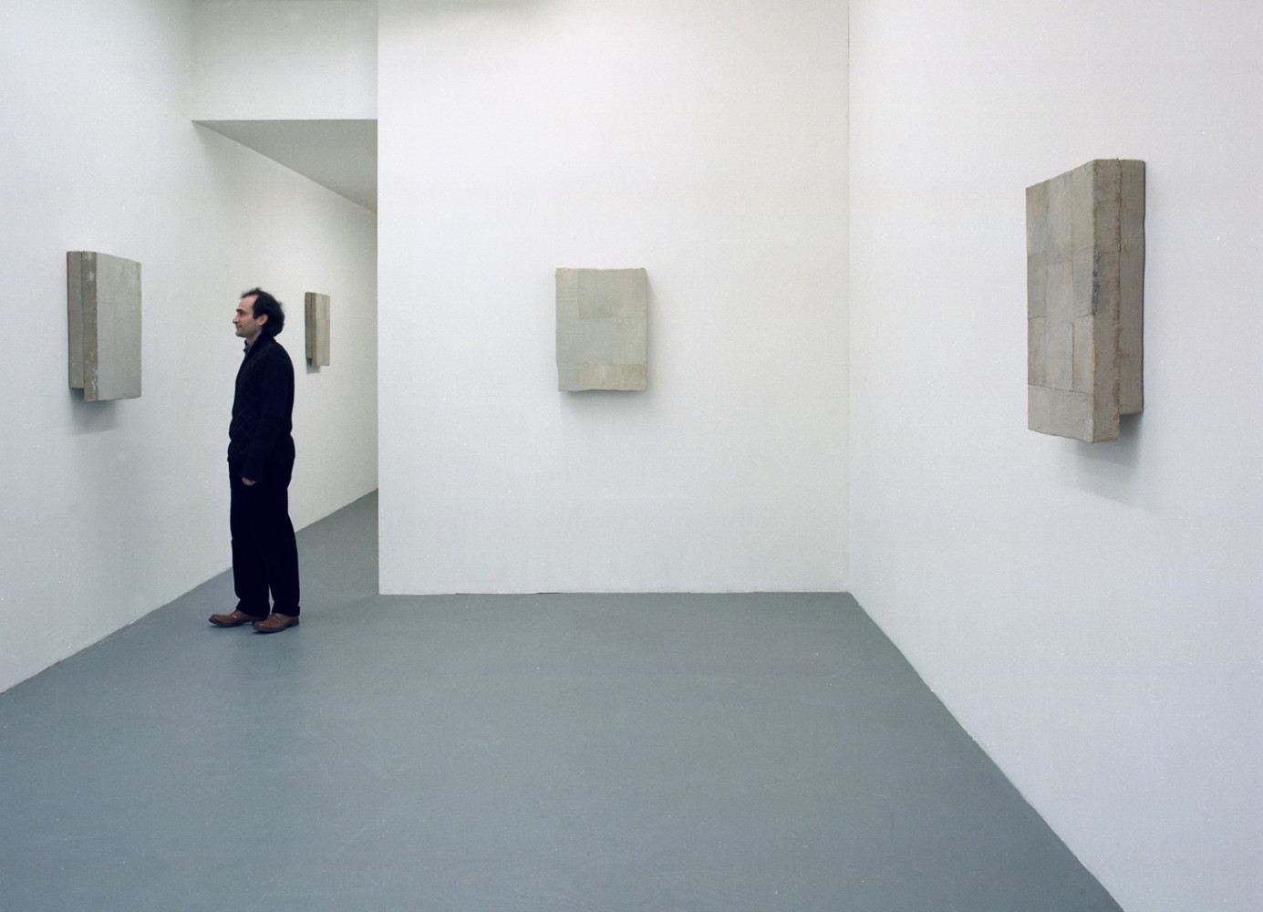Lawrence Carroll, 'Shadow Paintings', Installation view, 2002
