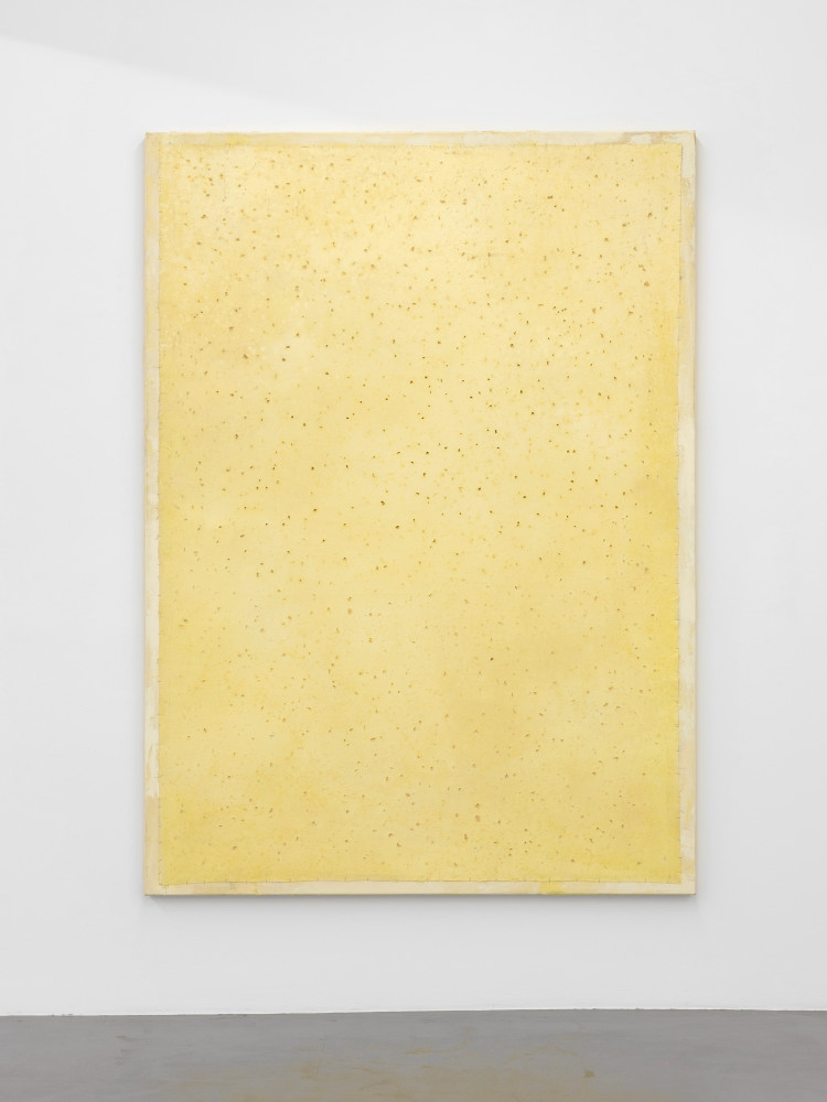 Lawrence Carroll, 'Untitled (yellow painting)', 2017