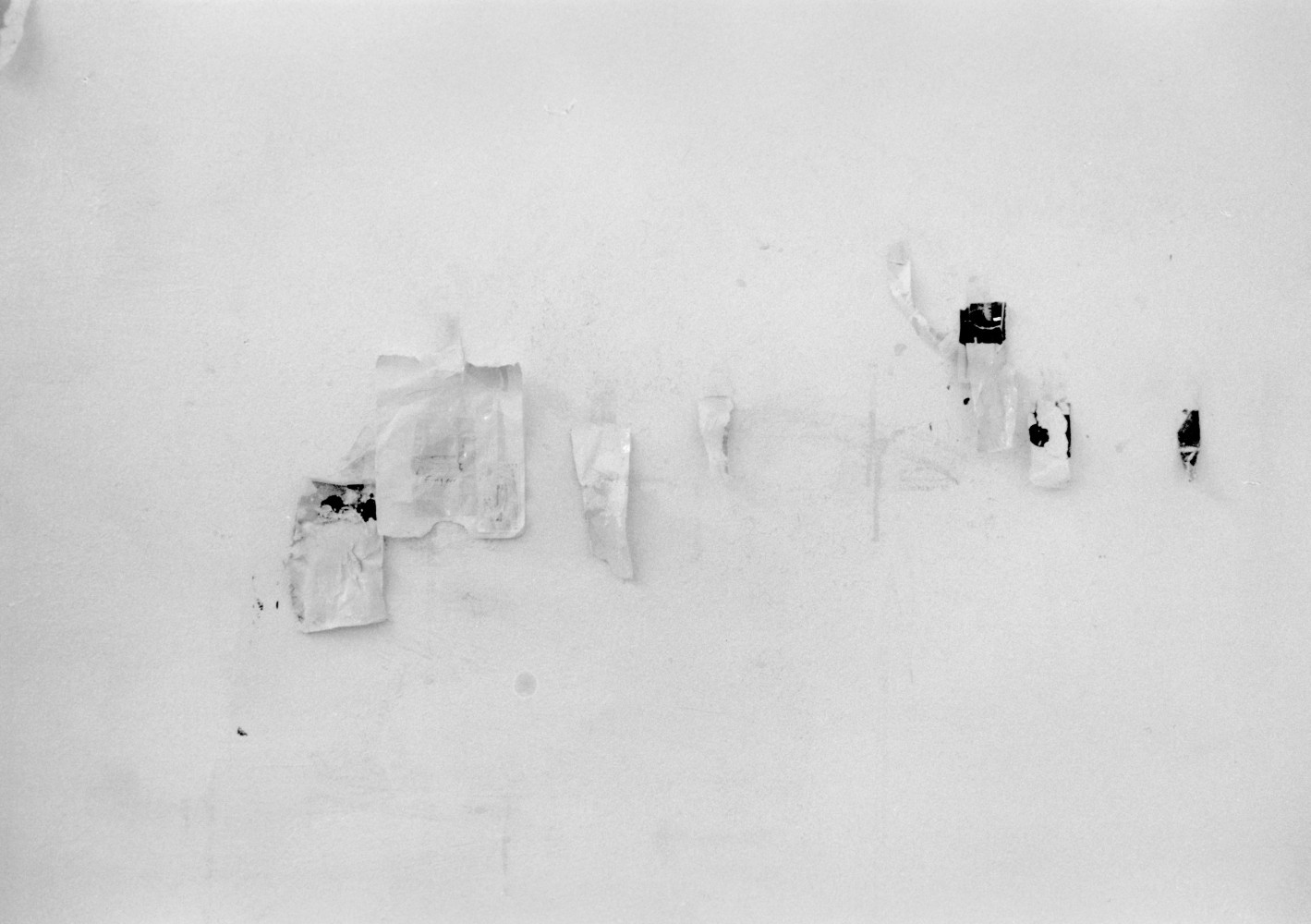 Lawrence Carroll, 'Wall piece', Installation view, 1998
