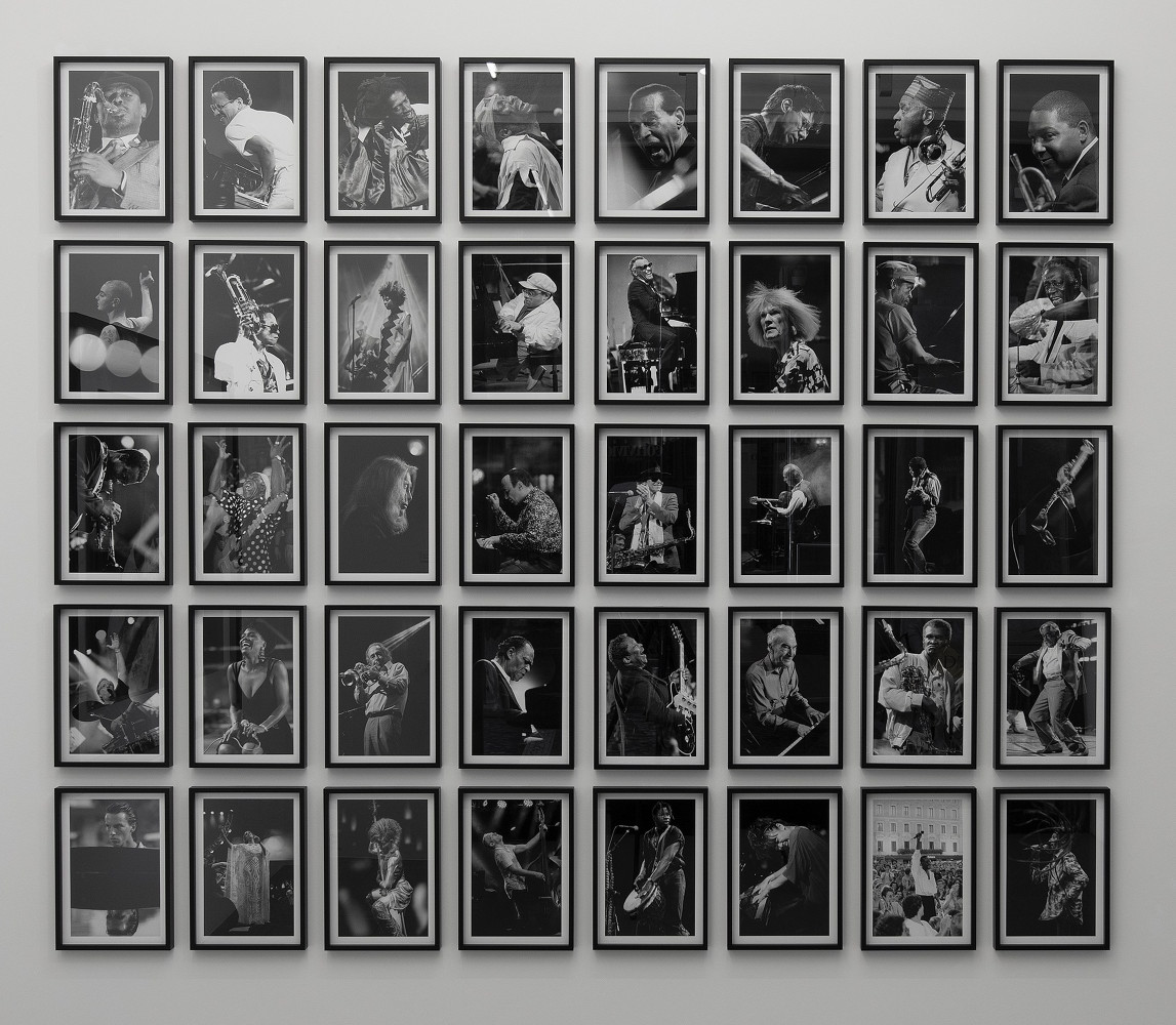 Marco D'Anna, '40 photographs (each is a single work)', Installation view, Buchmann Lugano, 2019