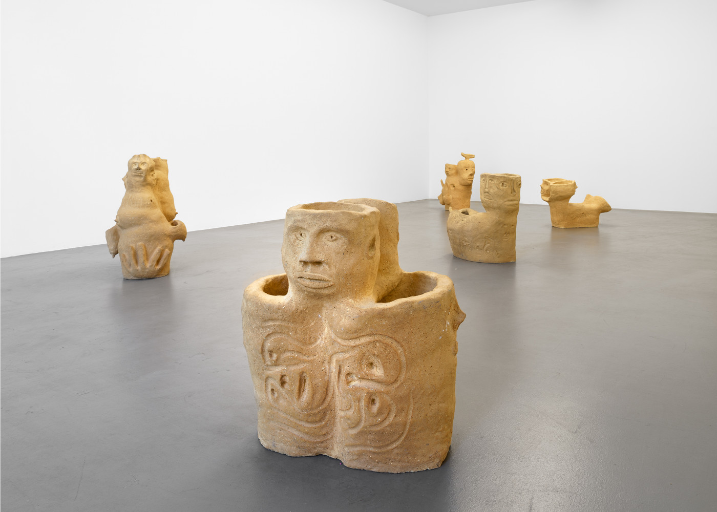 Martin Disler, Installation view, Buchmann Box, 2016