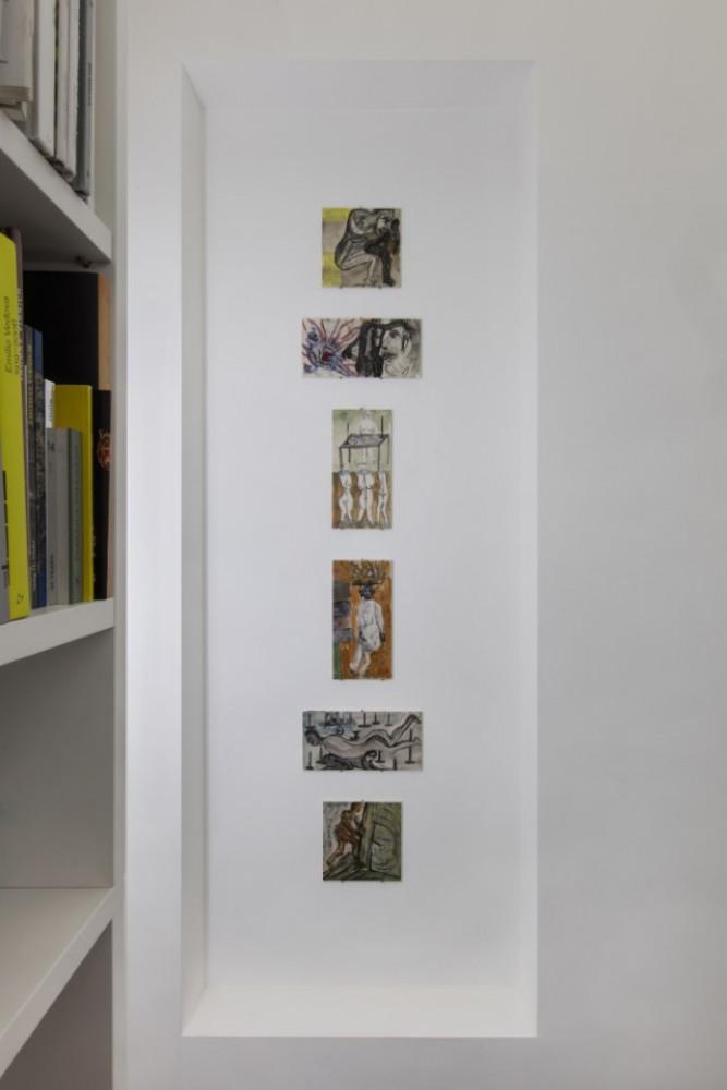 Martin Disler, Installation view, Buchmann Lugano, 2019