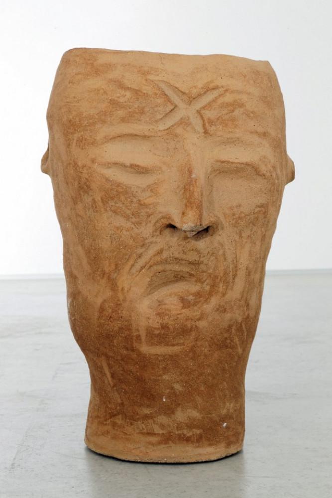 """Martin Disler, 'Ohne Titel (from the group """"Steinzeug und gebrannte Erde"""") verso', 1993"""