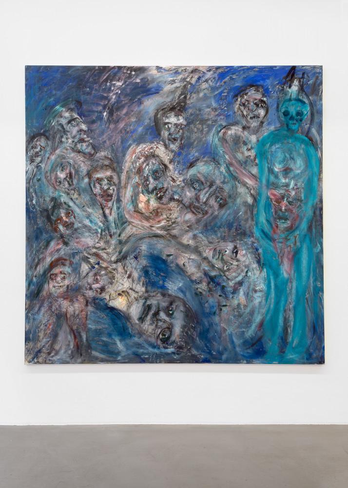 Martin Disler, 'Silent Blues', 1989–1991
