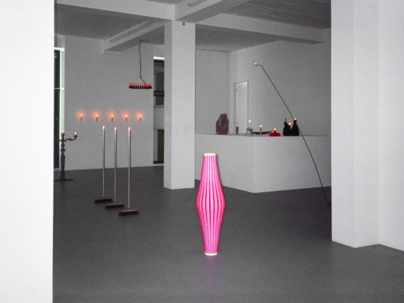 'Merry Christmas / Im Kerzenlicht – Group Show', Installation view, 1996