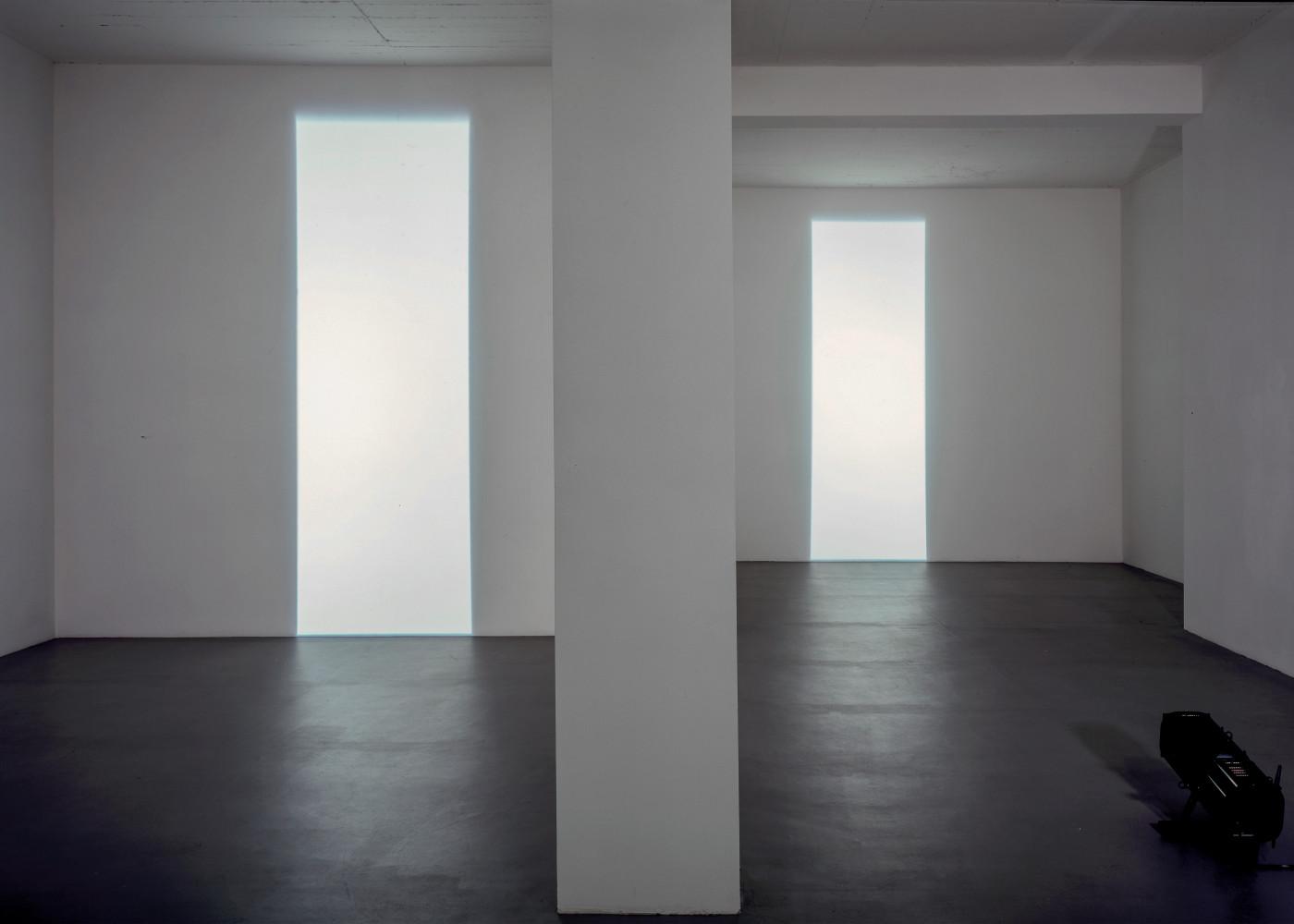 'Michael Verjux, Découpe', 1997