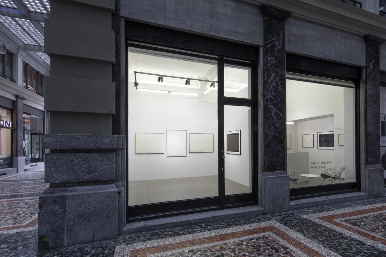 Tatsuo Miyajima, Installation view, Buchmann Lugano / Via della Posta, 2019