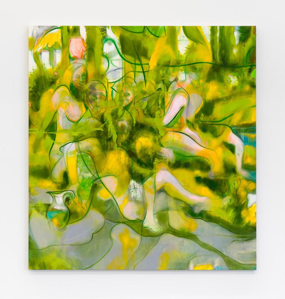 Nigel Cooke, 'Spring Bathers', 2019