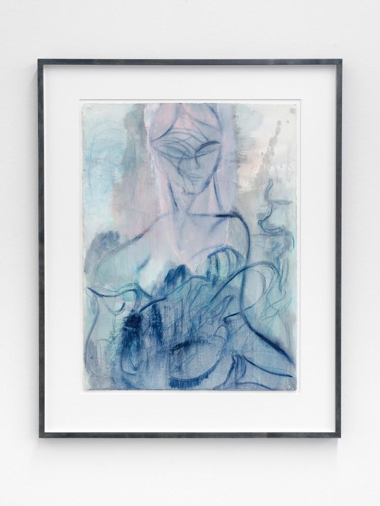 Nigel Cooke, 'Figure with Lobsters', 2019