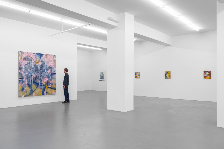 Nigel Cooke, 'Nigel Cooke – Spring in Fialta', Installation view, Buchmann Galerie, 2019