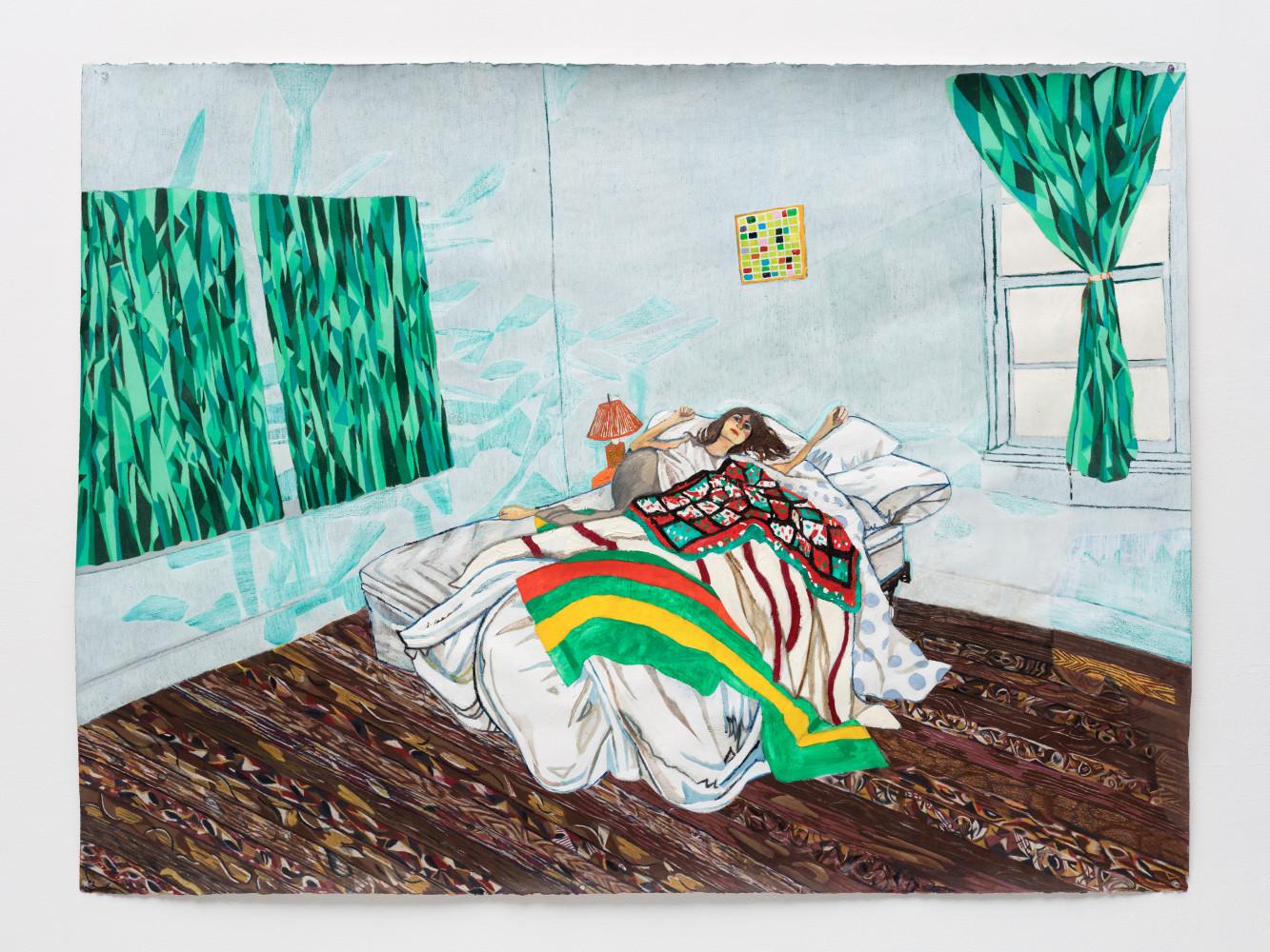 Raffi Kalenderian, 'Kate Wolf', 2017