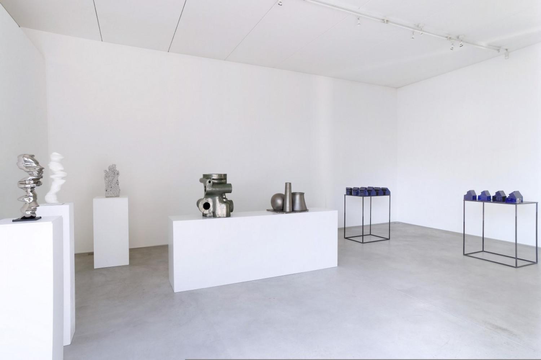Tony Cragg, Bettina Pousttchi, Installation view, Buchmann Lugano, 2017