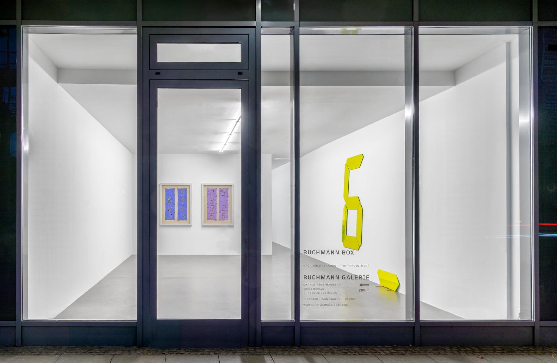 Tatsuo Miyajima, Installation view, Buchmann Box, 2021