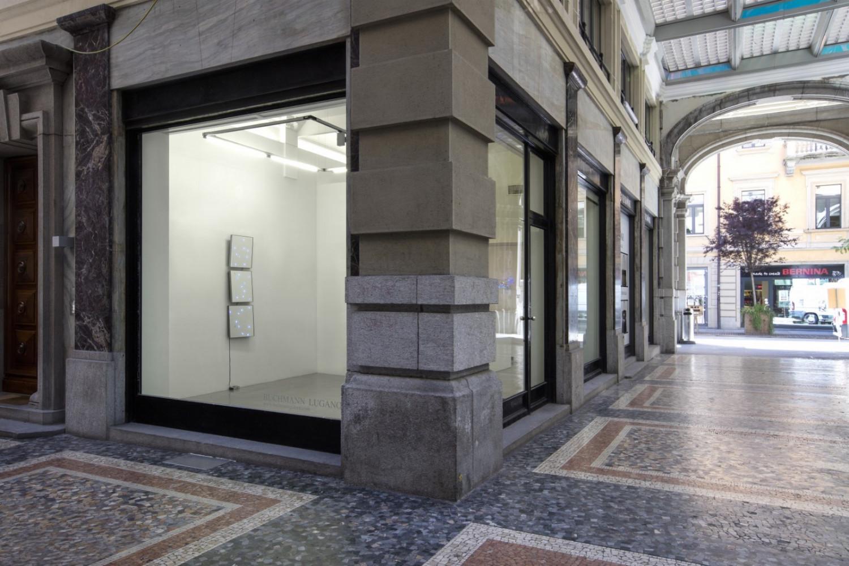 "Tatsuo Miyajima, '""C.T.C.S. Flower Dance"" no. 12', Installation view, Buchmann Lugano, 2017"