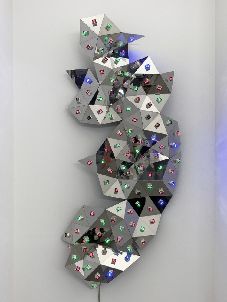 Tatsuo Miyajima, 'Diamond in You, n.19 detail', 2010