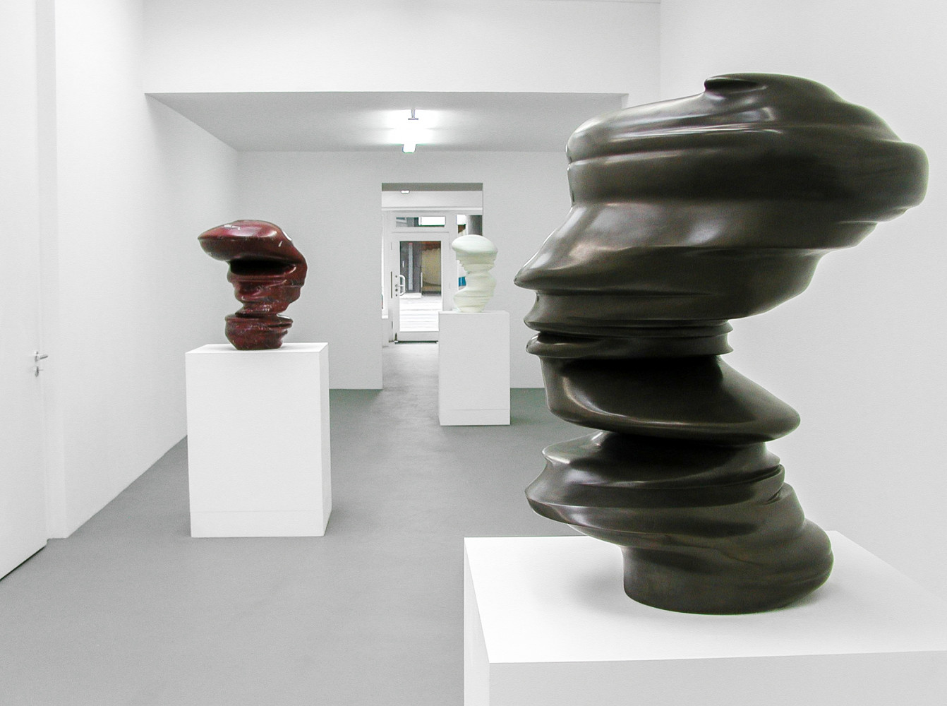 Tony Cragg, 'Sculptures', Installation view, 2002