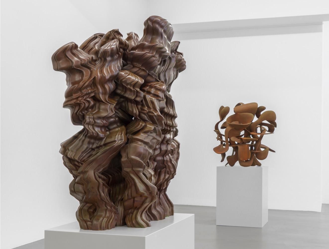 Tony Cragg, Installation view, Buchmann Galerie, 2018