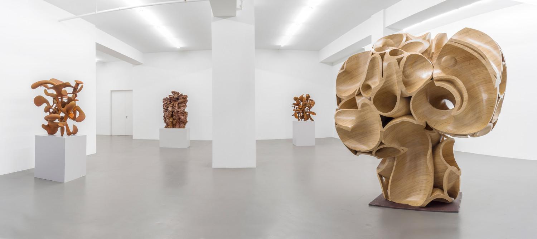 Tony Cragg, Installation view, Buchmann Galerie