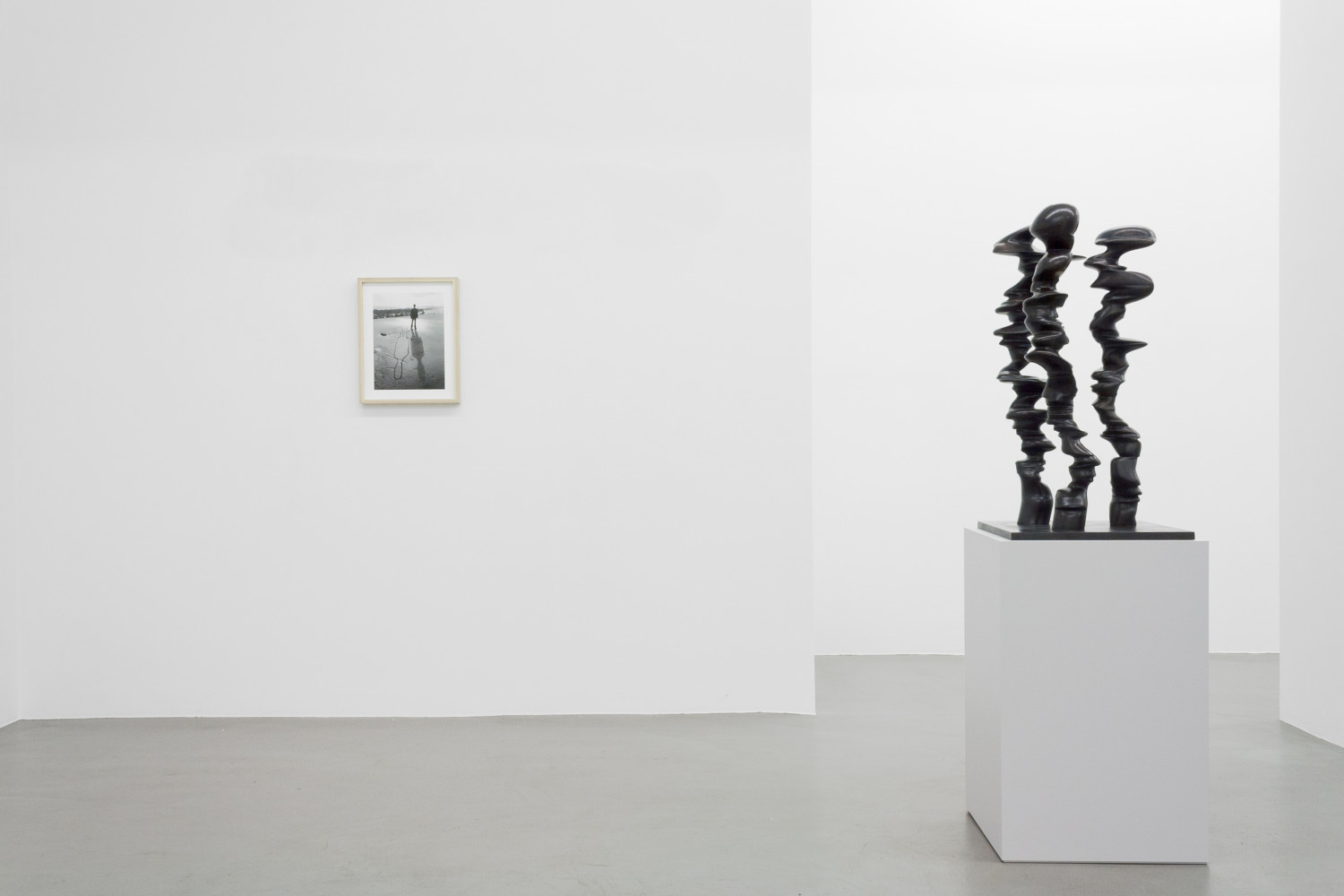 Tony Cragg, 'Figure – Tony Cragg - Martin Disler - Medardo Rosso - William Tucker - Rebecca Warren', Installation view, Buchmann Galerie