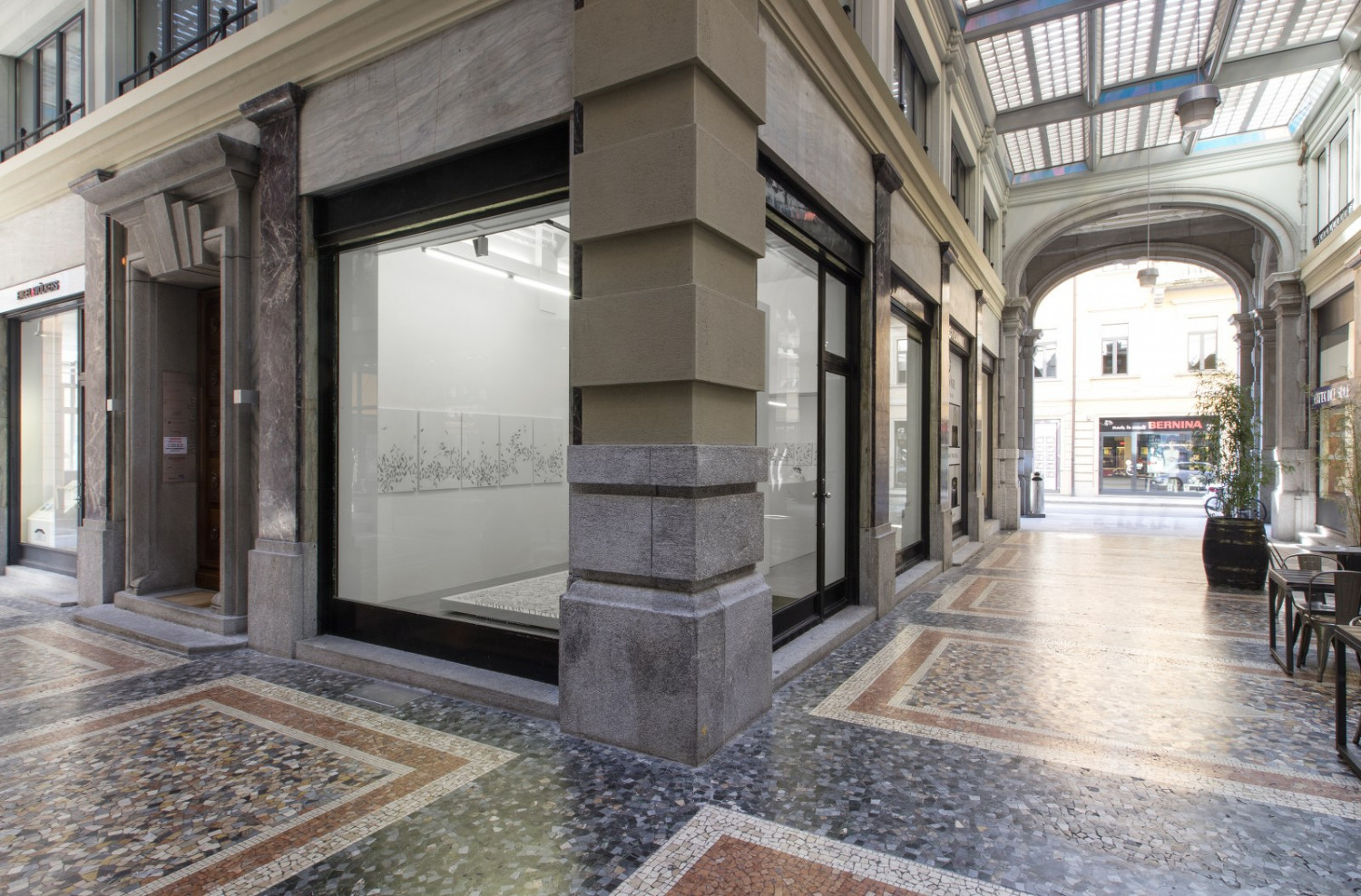 Véronique Arnold, Installation view, Buchmann Lugano / Via della Posta, 2018