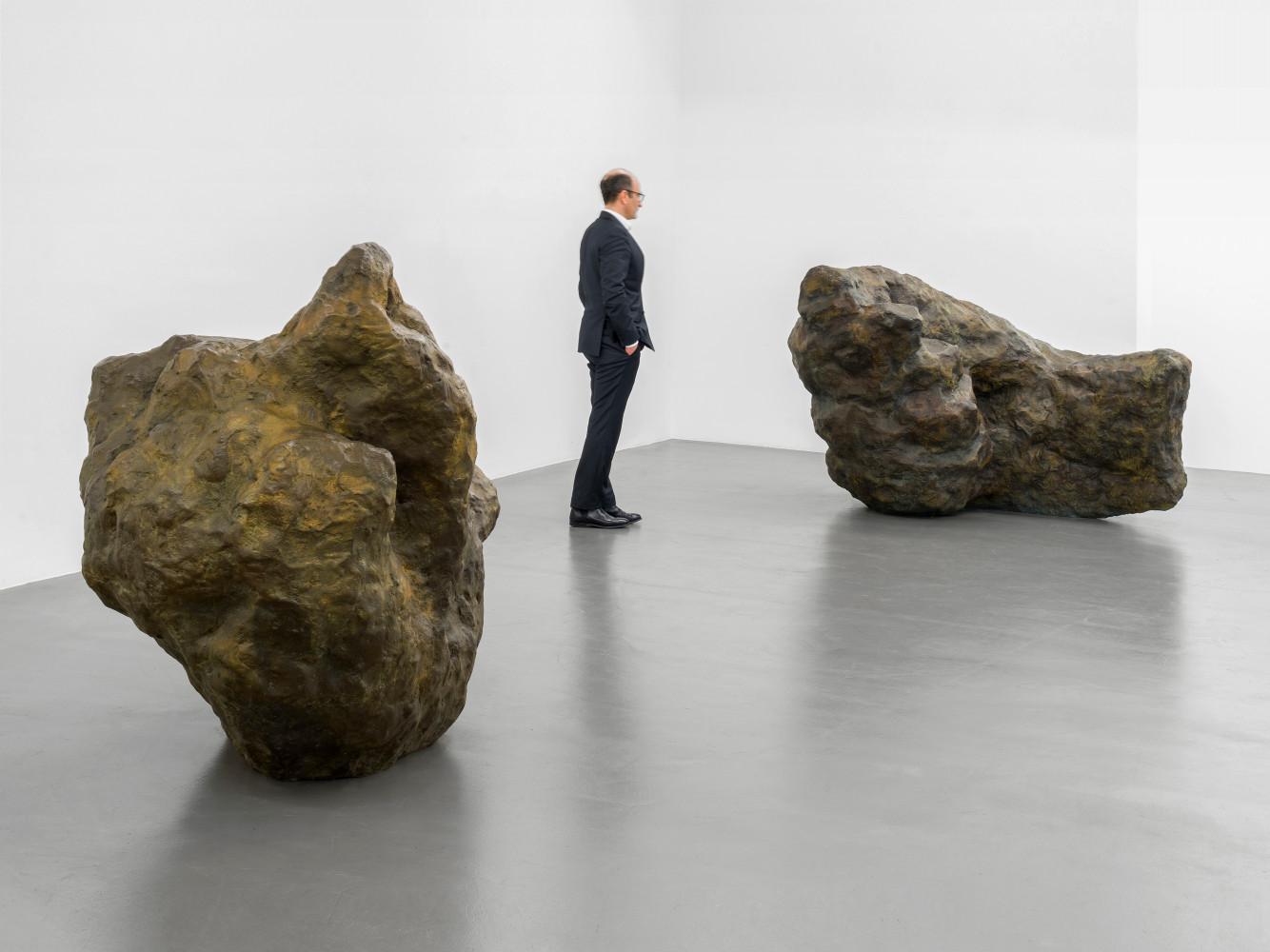 William Tucker, 'William Tucker –Figure Advancing', Installation view, Buchmann Galerie, 2020