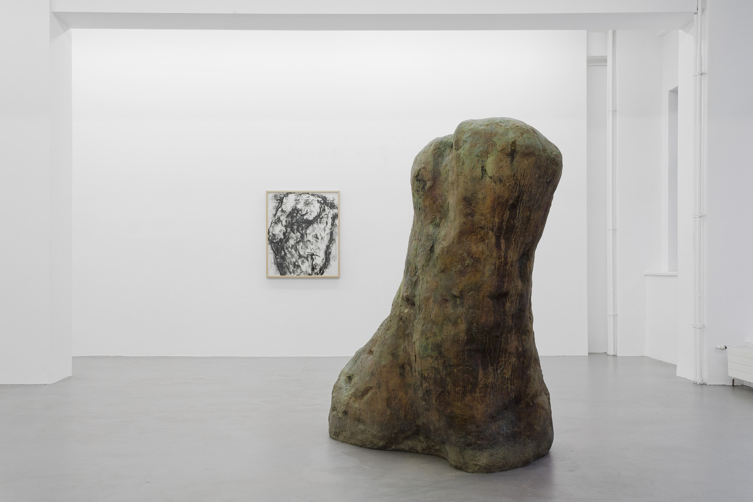 William Tucker, 'Figure – Tony Cragg - Martin Disler - Medardo Rosso - William Tucker - Rebecca Warren', Installation view, Buchmann Galerie, 2015–2016