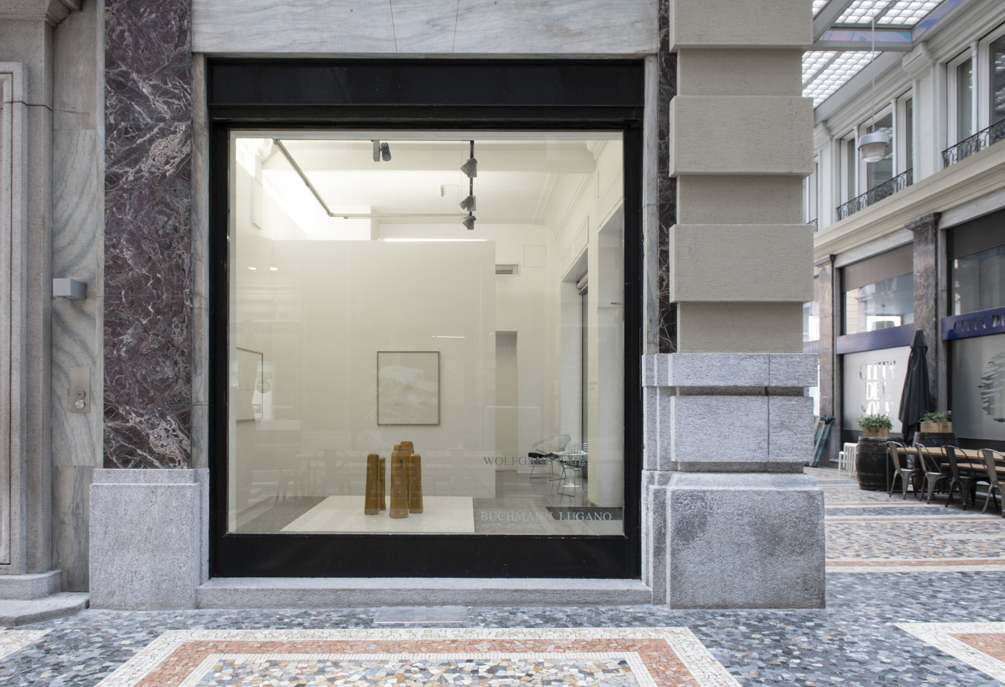 Wolfgang Laib, 'Türme des Schweigens - Towers of Silence', Installation view, Buchmann Lugano, 2020